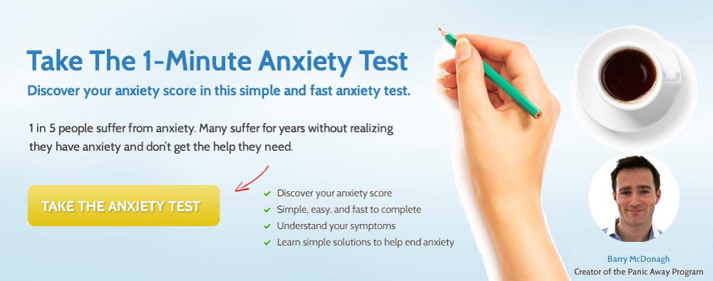 Take The 1-Minute Anxiety Test